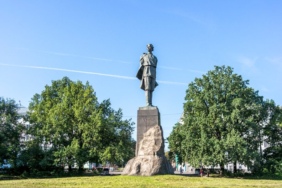 Monument de Gorki