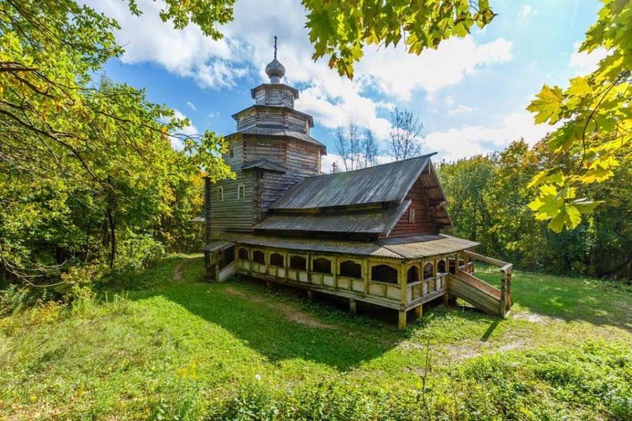 Le musée – Le hameau  Chtchelokovski